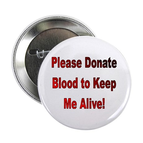 Donate blood Button pin