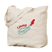 I Jump Tote Bag