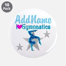"VIBRANT GYMNAST 3.5"" Button (10 pack)"