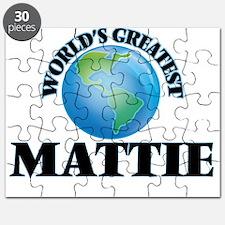 World's Greatest Mattie Puzzle