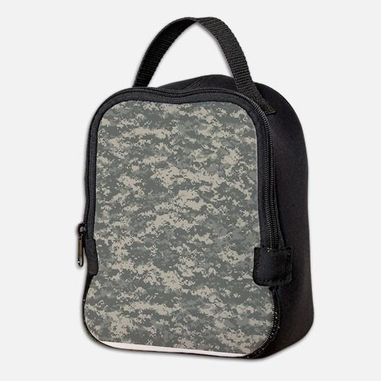Digital Camo Neoprene Lunch Bag