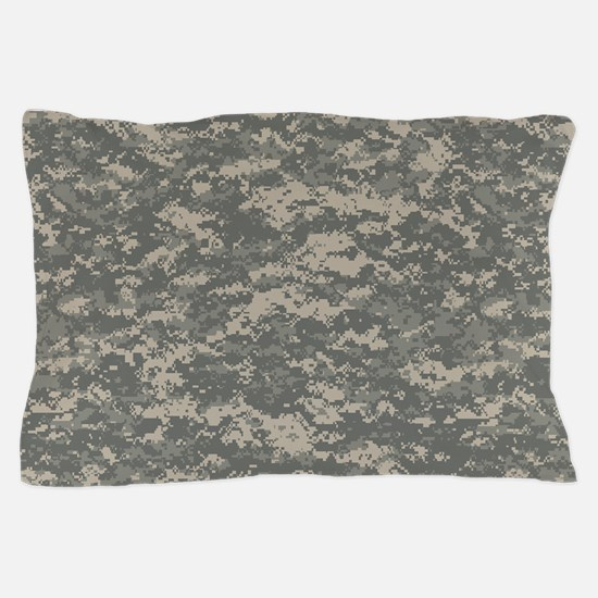 Digital Camo Pillow Case
