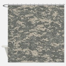 Digital Camo Shower Curtain