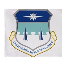 Air Force Academy.png Throw Blanket