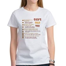 God's Top Ten List T-Shirt