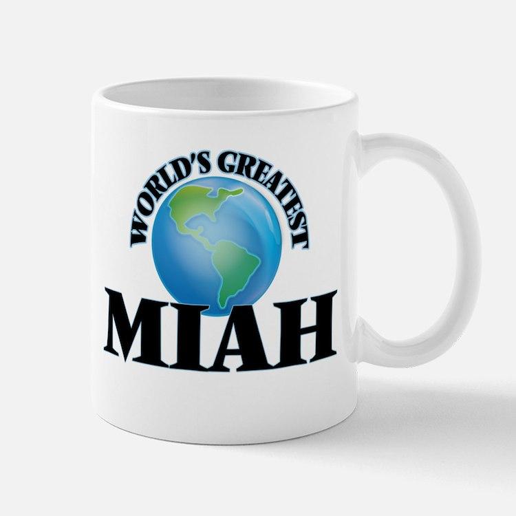 World's Greatest Miah Mugs