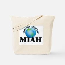 World's Greatest Miah Tote Bag