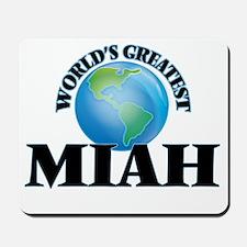 World's Greatest Miah Mousepad
