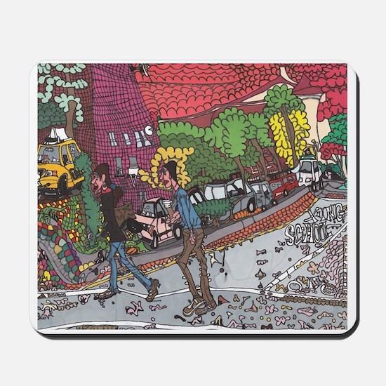 Jill's Street Mousepad