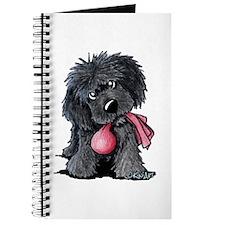 Playful Newfie Pup Journal