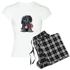 Playful Newfie Pup Pajamas