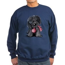 Playful Newfie Pup Sweatshirt