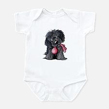 Playful Newfie Pup Infant Bodysuit