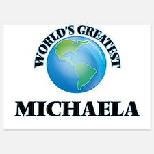 World's Greatest Michaela Invitations