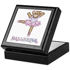 BALLERINA BEAR - Keepsake Box