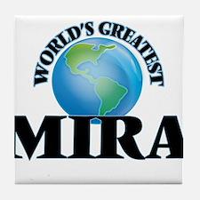 World's Greatest Mira Tile Coaster