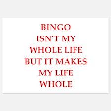 bingo Invitations