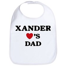 Xander loves dad Bib