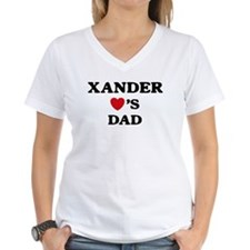 Xander loves dad Shirt