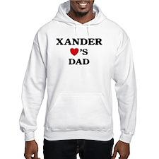 Xander loves dad Hoodie