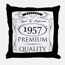 Cute 40 year old birthday party Throw Pillow