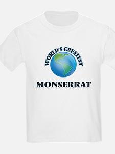 World's Greatest Monserrat T-Shirt