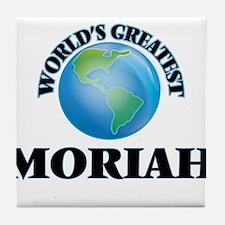 World's Greatest Moriah Tile Coaster