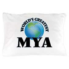 World's Greatest Mya Pillow Case