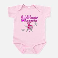 GYMNASTICS LOVE Infant Bodysuit