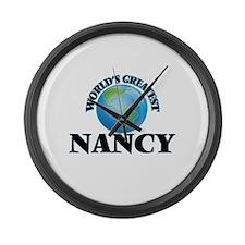 World's Greatest Nancy Large Wall Clock
