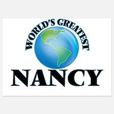 World's Greatest Nancy Invitations