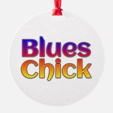 Blues Chick Ornament