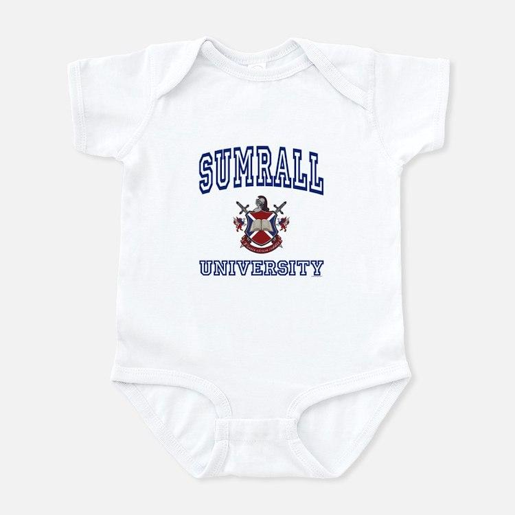 SUMRALL University Infant Bodysuit
