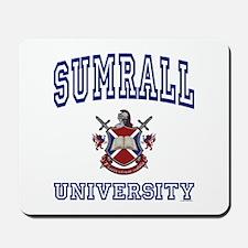 SUMRALL University Mousepad