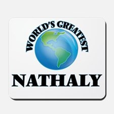 World's Greatest Nathaly Mousepad