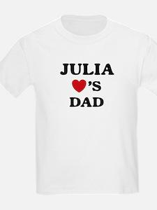 Julia loves dad T-Shirt