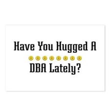 Hugged DBA Postcards (Package of 8)