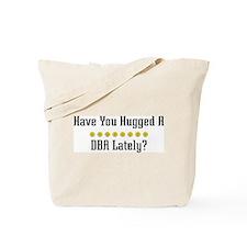 Hugged DBA Tote Bag