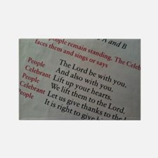 The Lord Be With You. Magnets