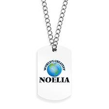 World's Greatest Noelia Dog Tags