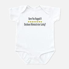 Hugged Database Administrator Infant Bodysuit