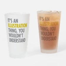 Its An Illustration Thing Drinking Glass