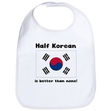 Half Korean Bib