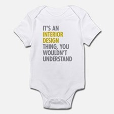 Interior Design Thing Infant Bodysuit