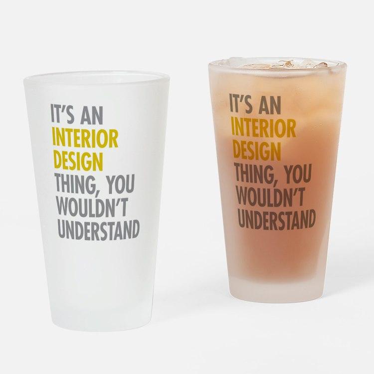 Interior Design Thing Drinking Glass