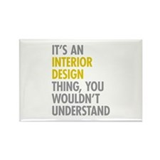 Interior Design Thing Rectangle Magnet (100 pack)