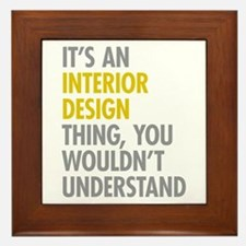 Interior Design Thing Framed Tile