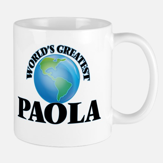 World's Greatest Paola Mugs