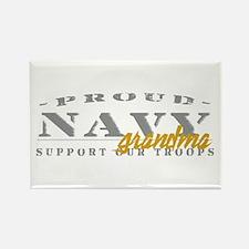 Proud Navy Grandma (red) Rectangle Magnet