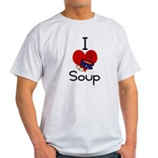 I love-heart soup T-Shirt